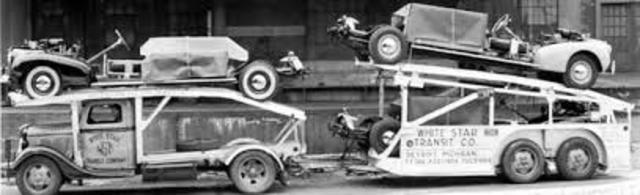 primeros vehículos industriales