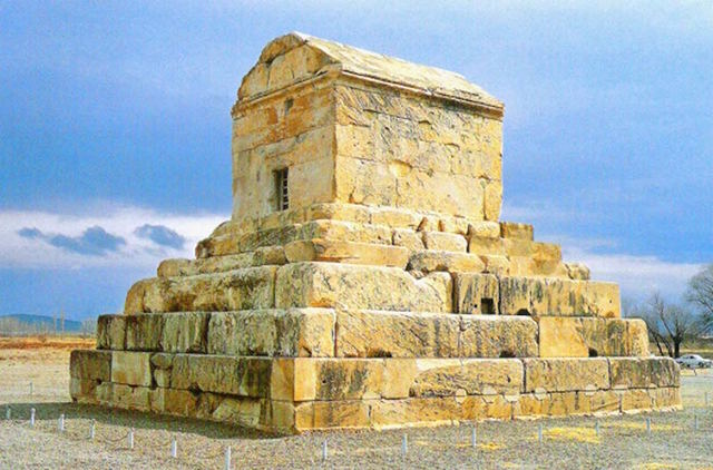 """Burial """"Tomb of Cyrus"""""""