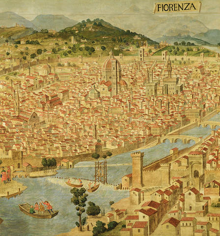 The city of Florence is founded.
