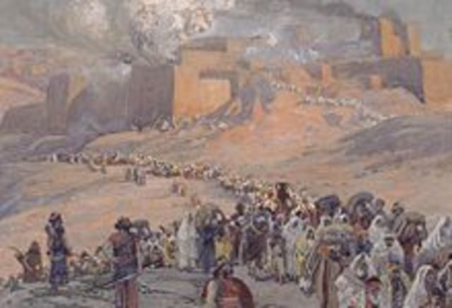 Fall of Babylon to Persian king Cyrus the Great in 539 BCE,