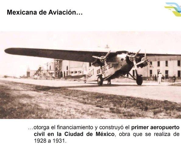 Se inaugura el Aeropuerto Internacional de la Ciudad de México