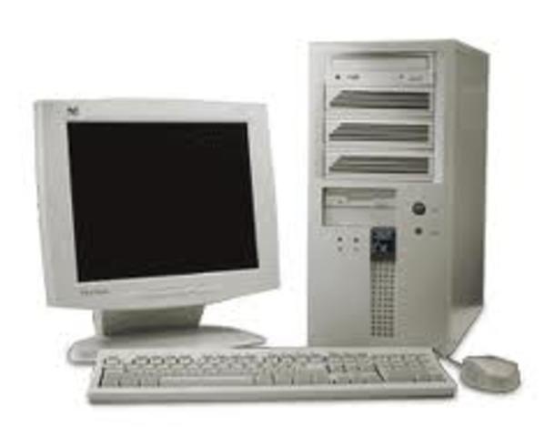 Tuve mi primer ordenador
