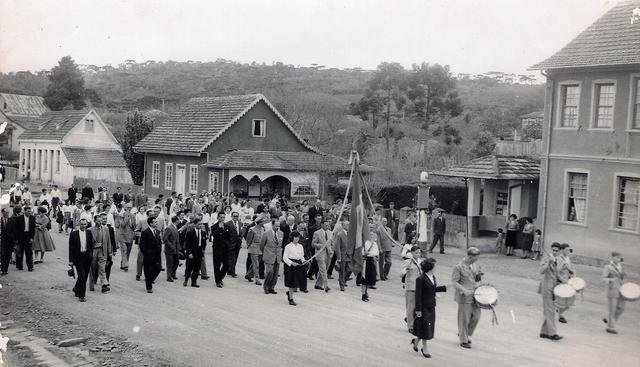 Inauguração do Posto de Saúde e o primeiro médico da cidade