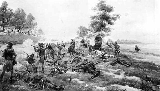 The Fall of Fort Dearborn