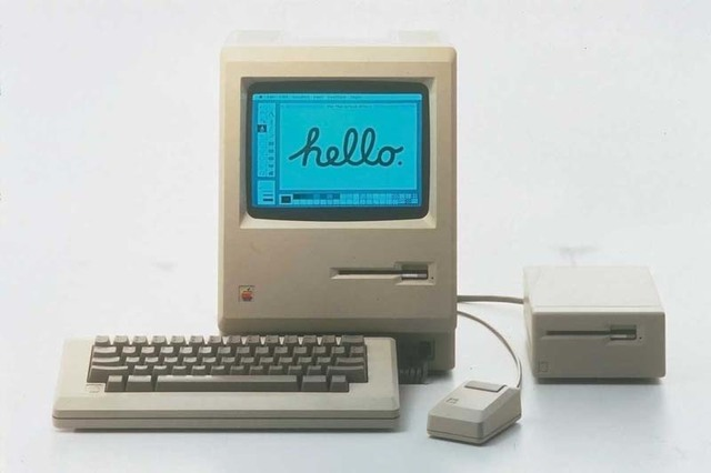 """Компьютер """"Макинтош""""."""