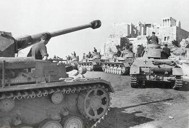 Οι Γερμανοί καταλαμβάνουν την Αθήνα