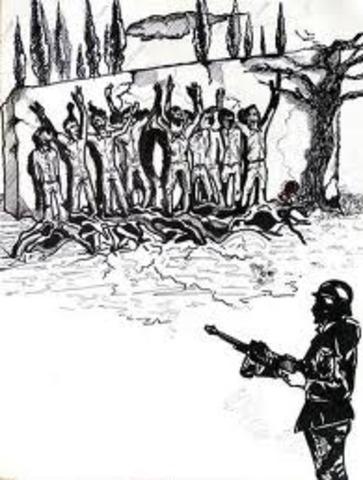 Οι Γερμανοί εκτελούν 200 Έλληνες πατριώτες στην Καισαριανή