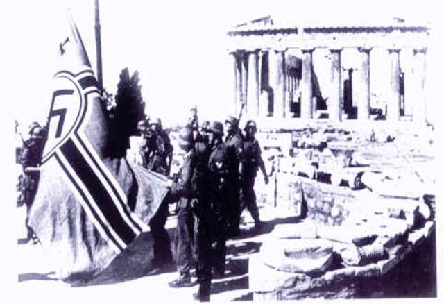 Αποχώρηση γερμανικών στρατευμάτων από την Αθήνα