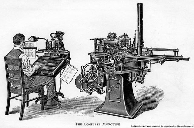 El libro en la era mecánica