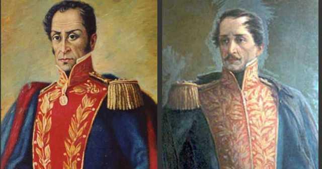 Bolivar y Santander