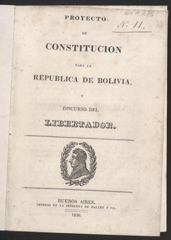 Constitucion de Bolivia
