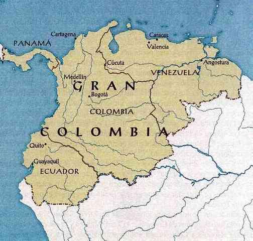 Unión de Panamá a la Gran Colombia.