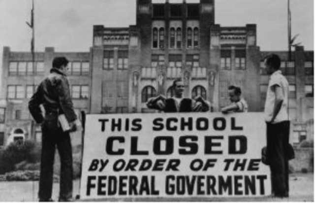 Governor Faubus Closes Schools