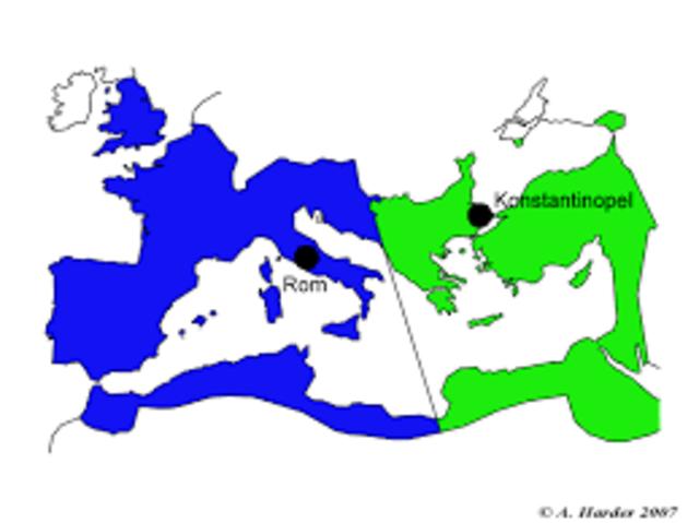 Teilung römisches Reich