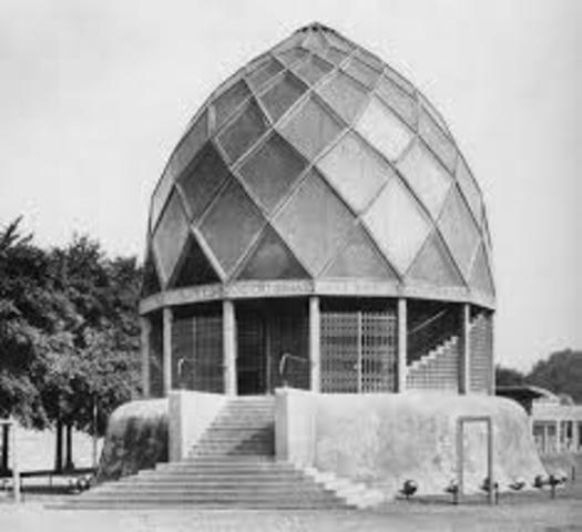 Pavillon der Glasindustrie von Bruno Taut