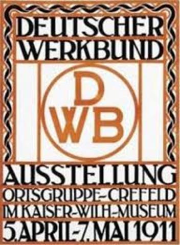 Gründung Deutscher Werkbund
