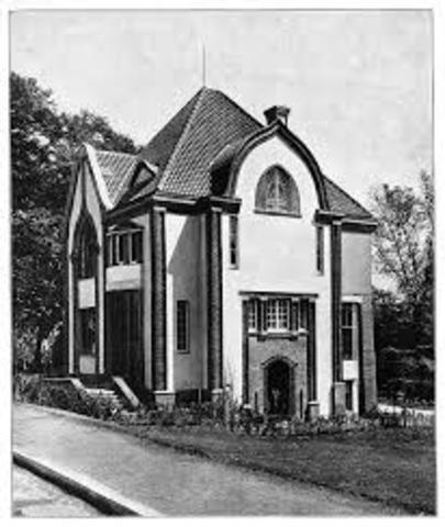 Haus Behrens auf der Mathildenhöhe