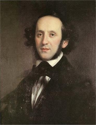 (1809-1847) Felix Mendelssohn (Alemana)
