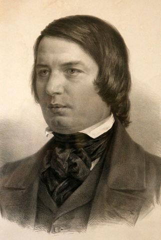 (1810-1856) Robert Schumann (Alemana)