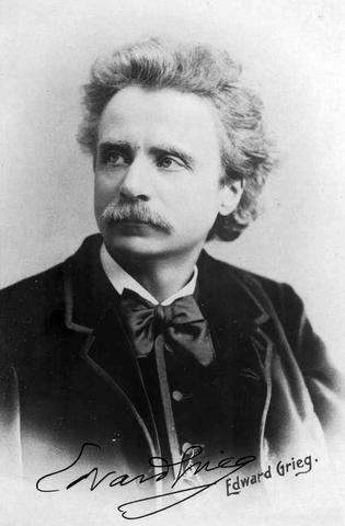 (1843-1907) Edward Grieg (Escandinavia)