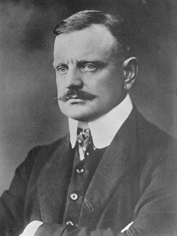 (1865-1957) Jean Sibelius (Escandinavia)