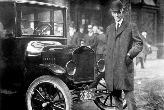 Sistema de Producción en Línea.- Henry Ford