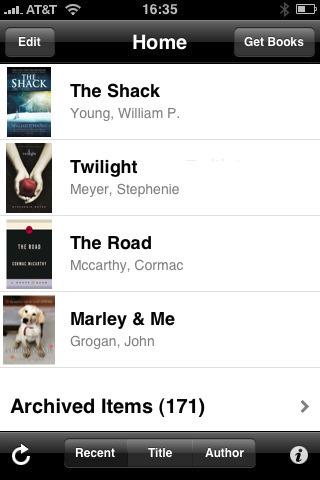 Amazon.com: Kindle for iPhone