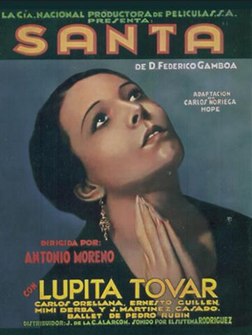"""Se estrena la primera película sonora mexicana, """"Santa"""", con música de Agustín Lara."""