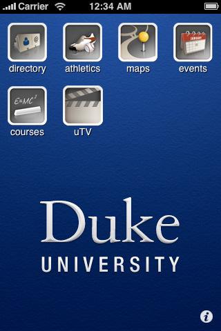 Duke University: Duke Mobile