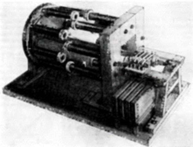 The first electric motors