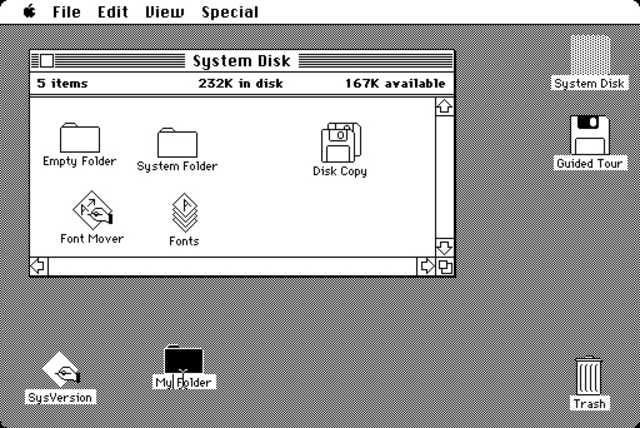 The first operating system