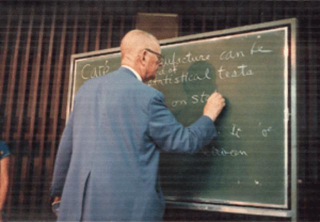 Control estadístico de procesos.- William Deming