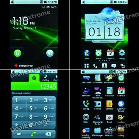 Android 2.1 (Multi-touch)