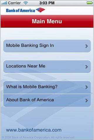 Bank of America: Mobile Banking