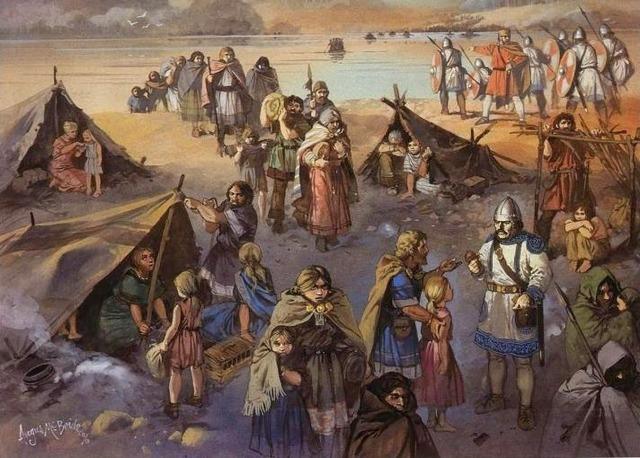 La rivolta delle tribù germaniche