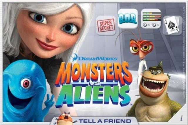 DreamWork: Monsters vs. Aliens