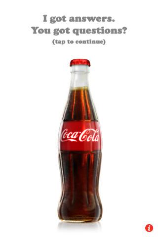Coca-Cola: Magic Coke Bottle