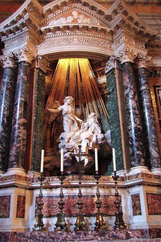 El Éxtasis de Santa Teresa, Bernini