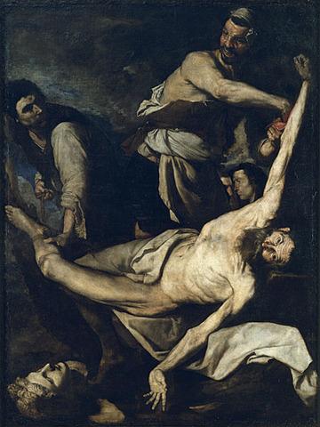 El Martirio de San Bartolomé, Ribera
