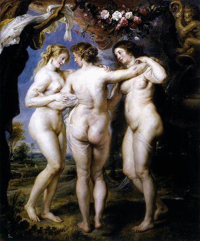 Las Tres Gracias, Rubens