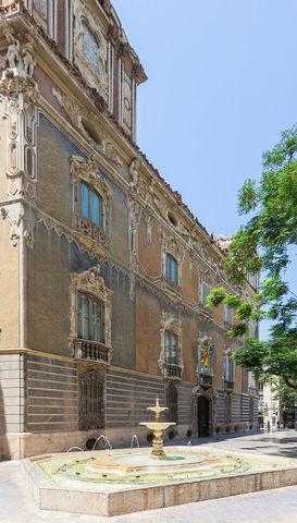 Fachada del palacio del marqués de Dos Aguas, Rovira
