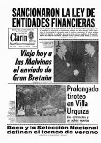 """Ley de Entidades Financieras y la """"Plata Dulce"""""""