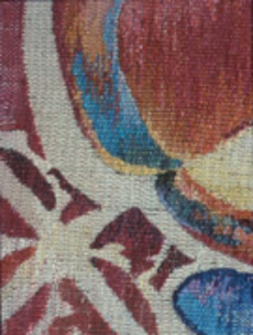 Ann Matlock   Johnson City, TX   Painting on Silk Warps