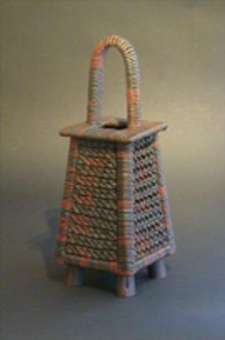Shuji Ikeda    Berkeley, CA   Making Tsuchi-kago: Handbuilt Woven Ceramic Baskets