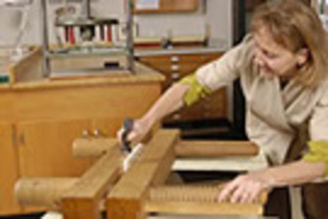 Olivia Primanis   Austin, TX   A Sampling of Repairs for Historical Bindings