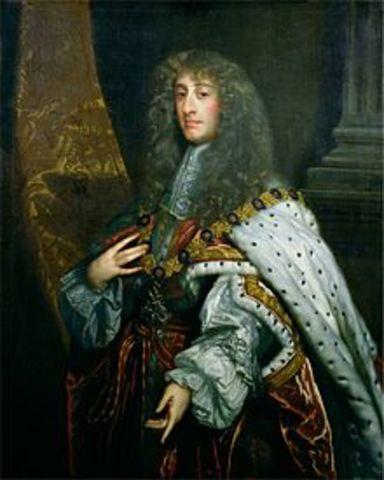 Rule of James II begins