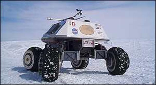 Carneggie Mellon U - Nomad Robot
