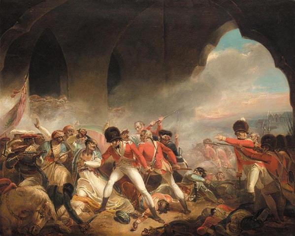 The British Government establishes rule over India (establishes the Raj)