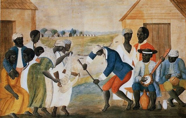 first slave in North america