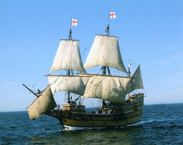 Mayflower's historic trip